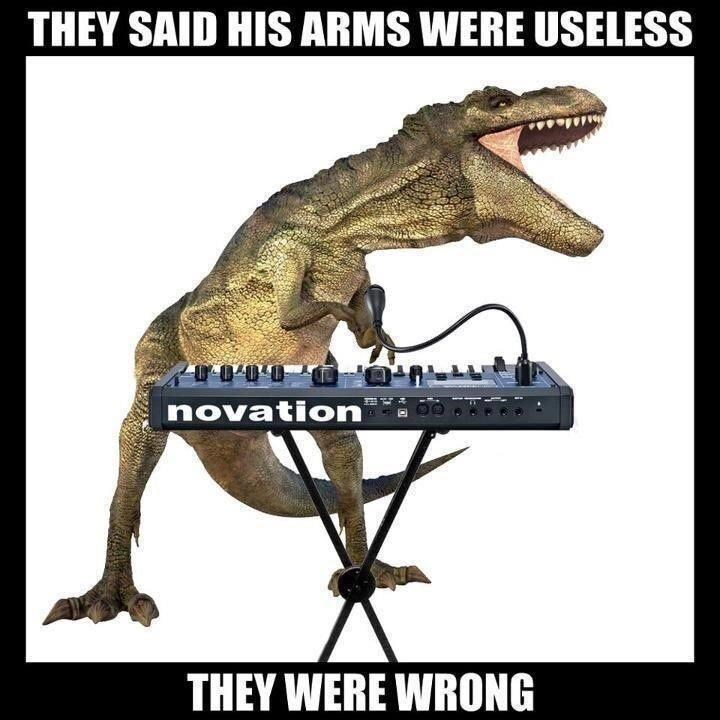 Extinction - THEY SAID HIS ARMS WERE USELESS 0000 novation THEY WERE WRONG