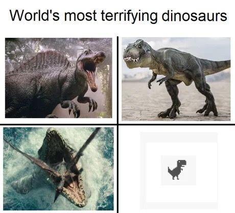 Organism - World's most terrifying dinosaurs