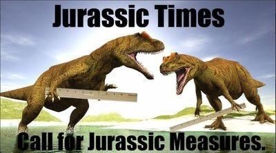 Extinction - Jurassic Times Call for Jurassic Measures.