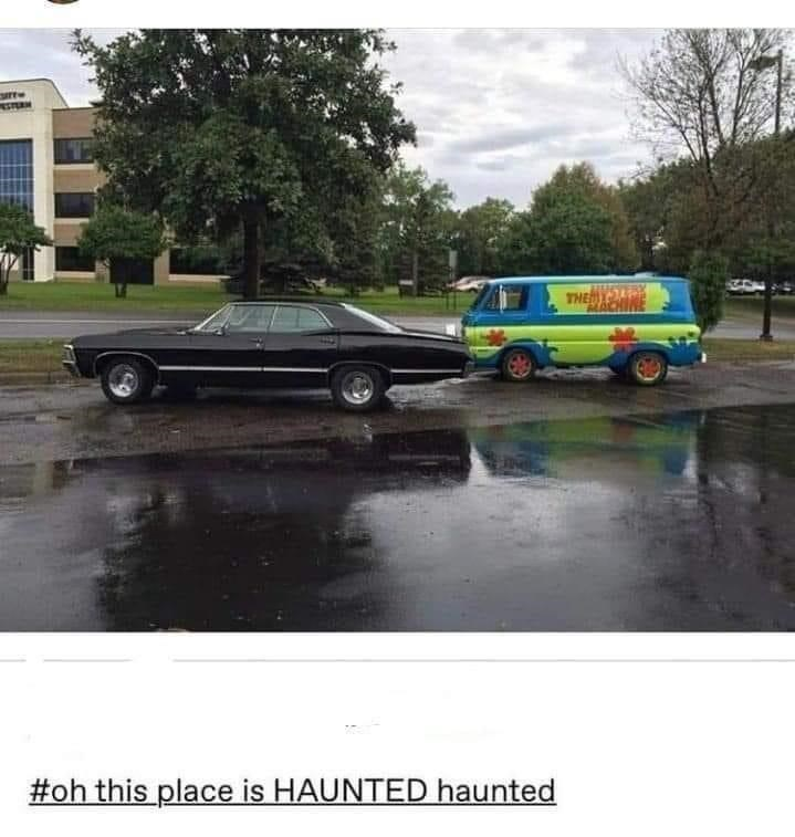 Tire - THE #oh this place is HAUNTED haunted