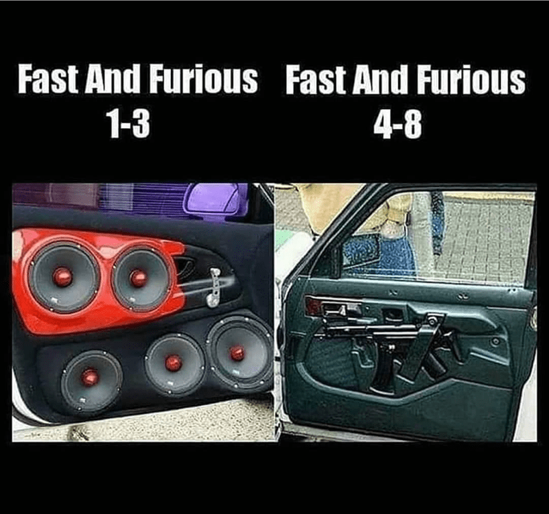 Automotive lighting - Fast And Furious Fast And Furious 1-3 4-8