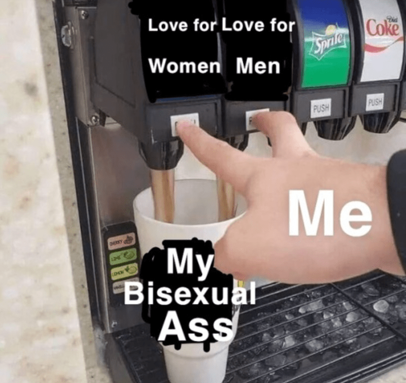 Watch - Love for Love for Coke Sprile Women Men PUSH PUSH Me DERY My Bisexual Ass LEOW