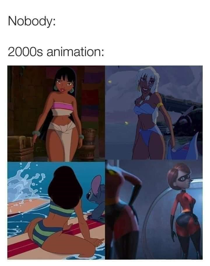 Vertebrate - Nobody: 2000s animation: