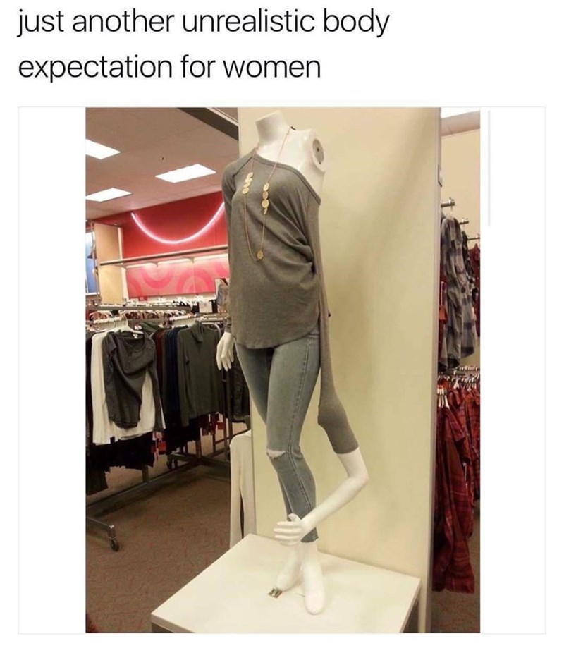 Product - just another unrealistic body expectation for women