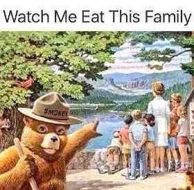 Water - Watch Me Eat This Family SMOKE
