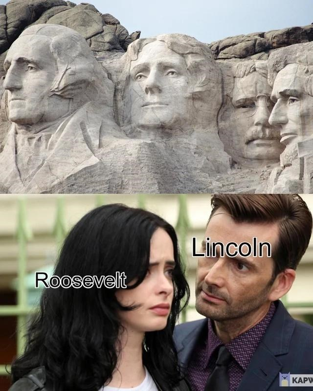 Forehead - Lincoln Roosevelt КАPW