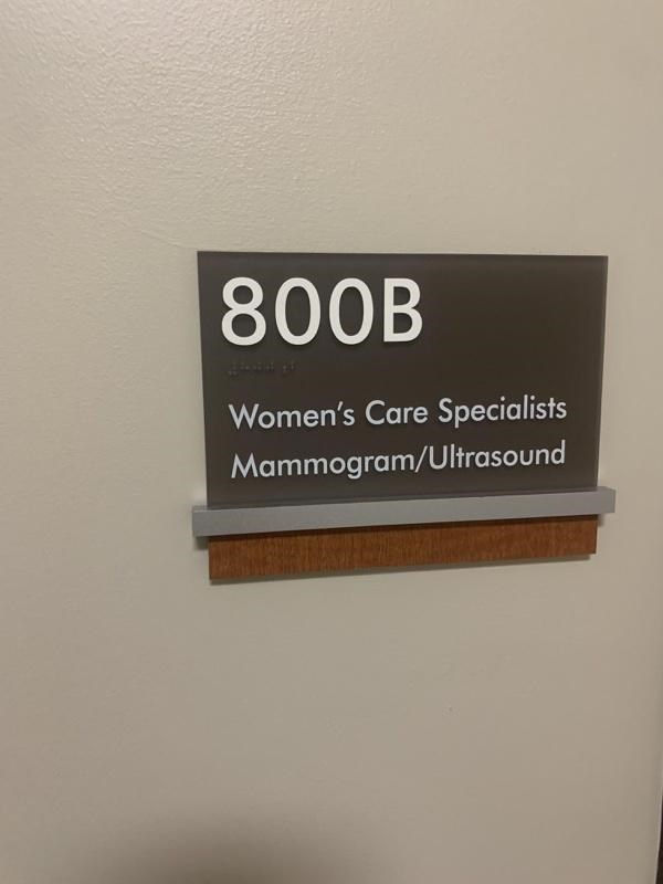 Brown - 800B Women's Care Specialists Mammogram/Ultrasound