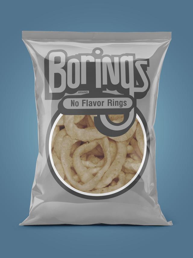 Food - Borings BRAND No Flavor Rings