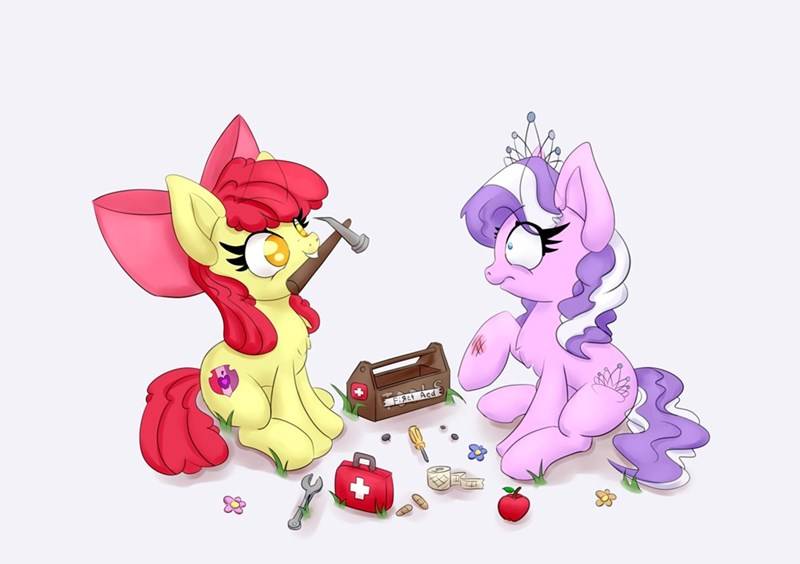 diamond tiara nedemai apple bloom - 9616249600