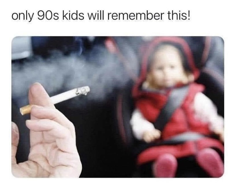 Tobacco - only 90s kids will remember this!