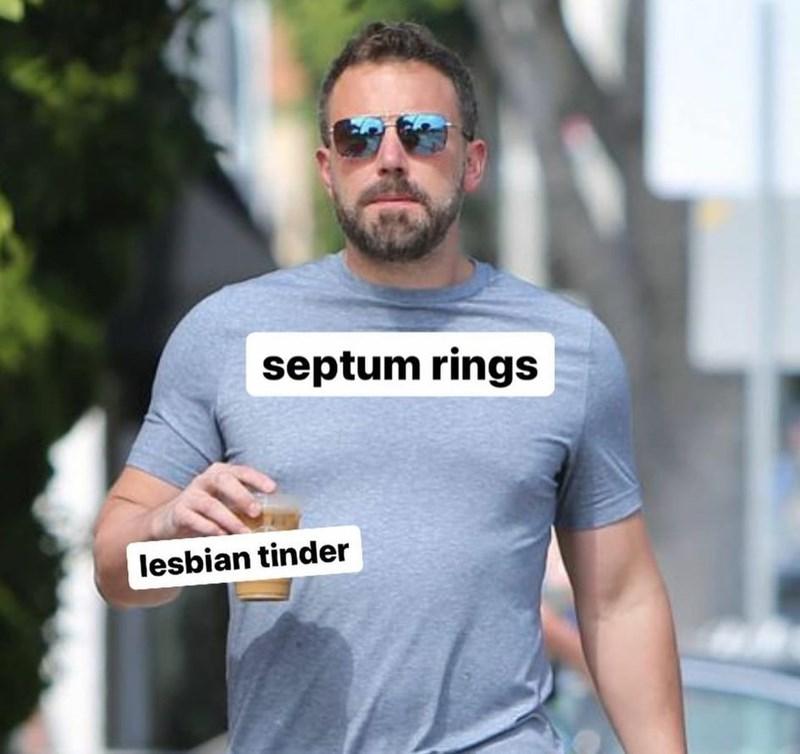 Glasses - septum rings lesbian tinder
