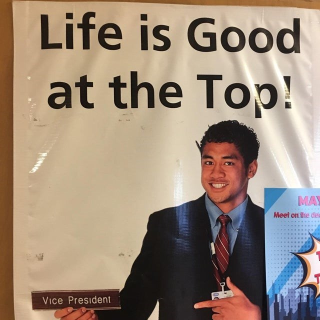 Smile - Life is Good at the Top! MAY Meet on the de Vice President