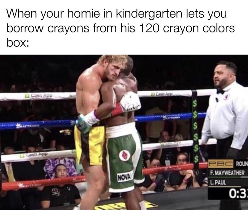 Shorts - When your homie in kindergarten lets you borrow crayons from his 120 crayon colors box: Cash App Can Ase 5 Cash App PE F. MAYWEATHER ROUN NOVA L PAUL 0:3: SSSS