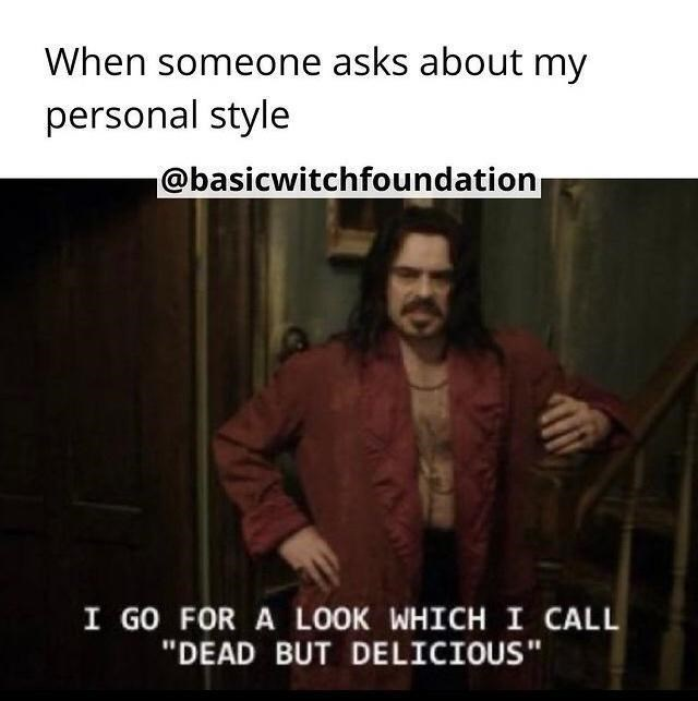 """Sleeve - When someone asks about my personal style @basicwitchfoundation I GO FOR A LOOK WHICH I CALL """"DEAD BUT DELICIOUS"""""""