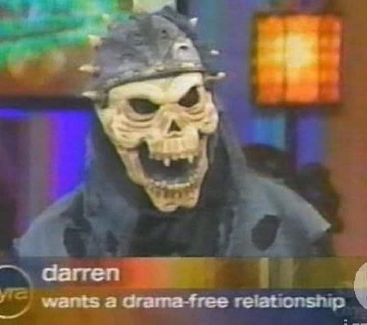 Font - darren yra wants a drama-free relationship