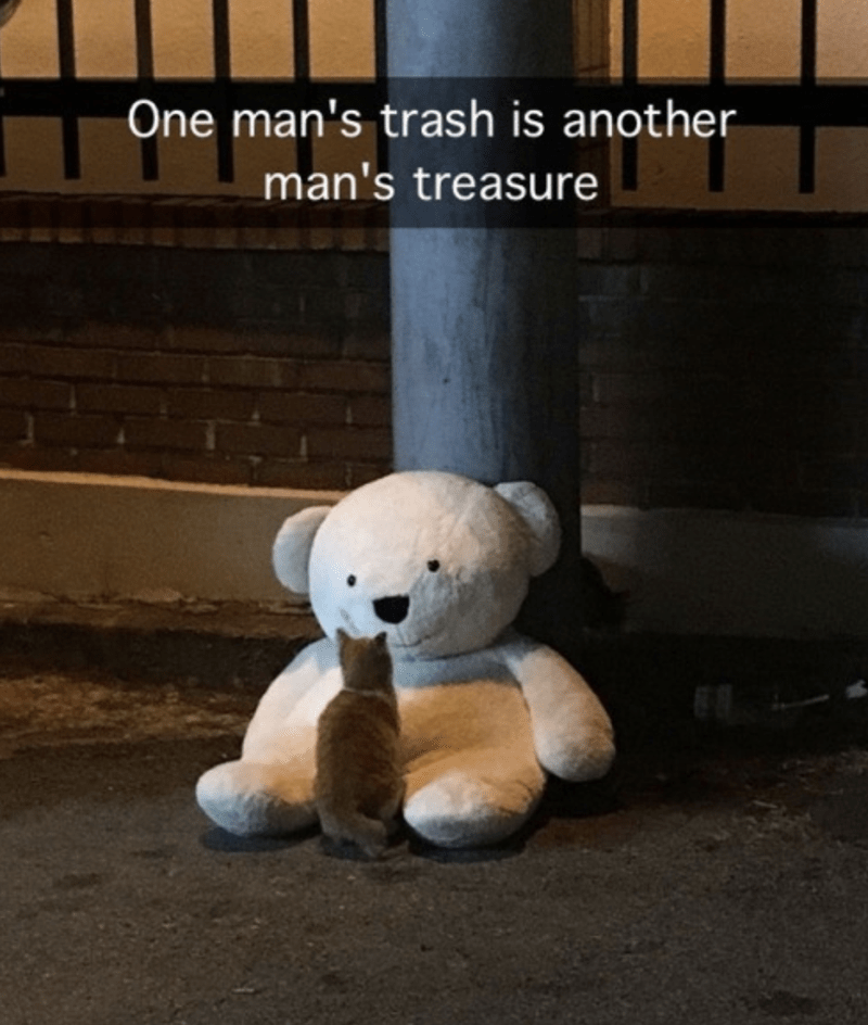 Toy - One man's trash is another man's treasure