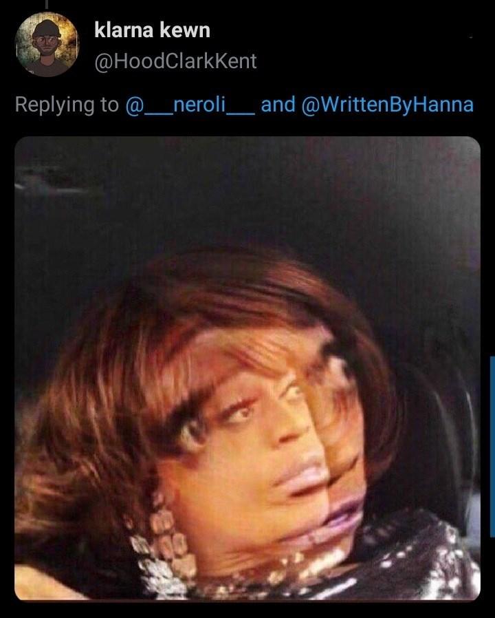 Eyebrow - klarna kewn @HoodClarkKent Replying to @_neroli__ and @WrittenByHanna