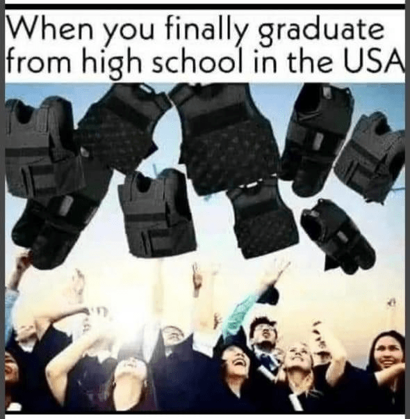 Outerwear - When you finally graduate from high school in the USA