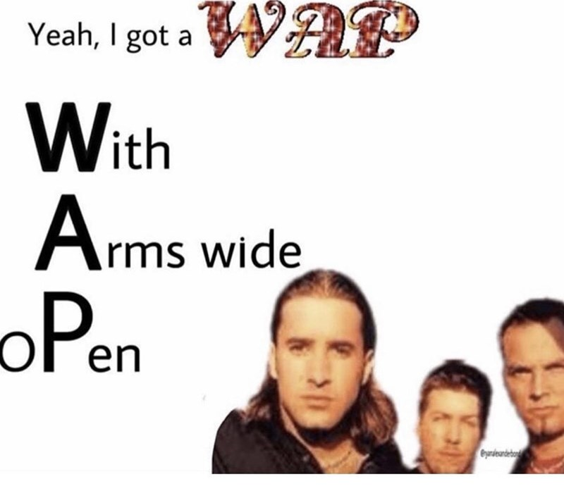 Eyebrow - Yeah, I got a WAP With Arms wide oPen Cyrdeandeba