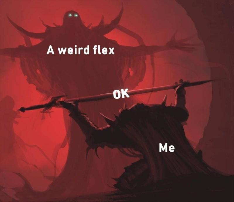 Font - A weird flex OK Me