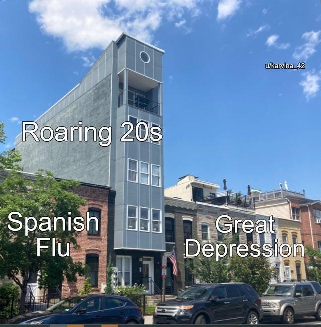 Wheel - u/karvina 42 Roaring 20s Spanish Flu Great Depression