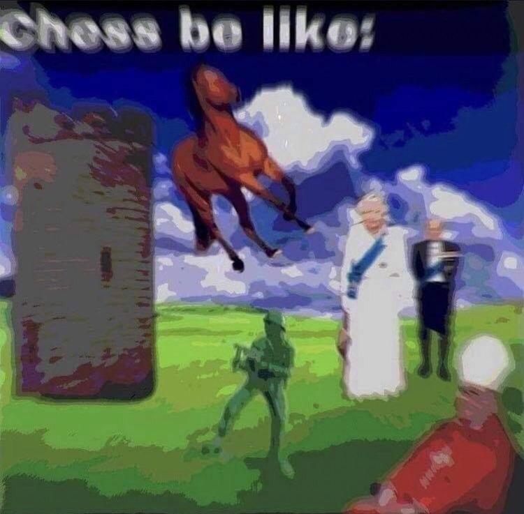 World - Chess be like: