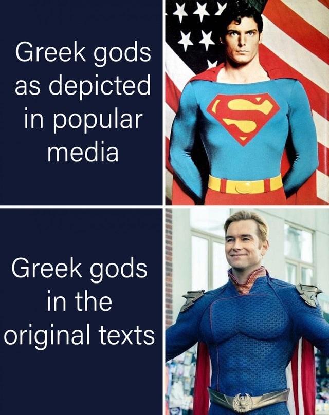 Outerwear - Greek gods as depicted in popular media Greek gods in the original texts