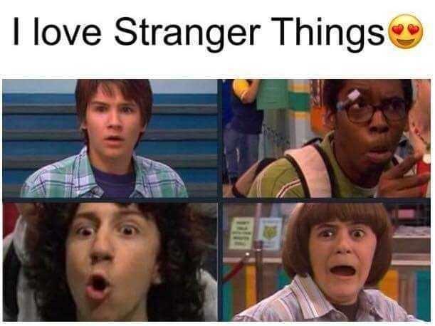 Forehead - I love Stranger Things