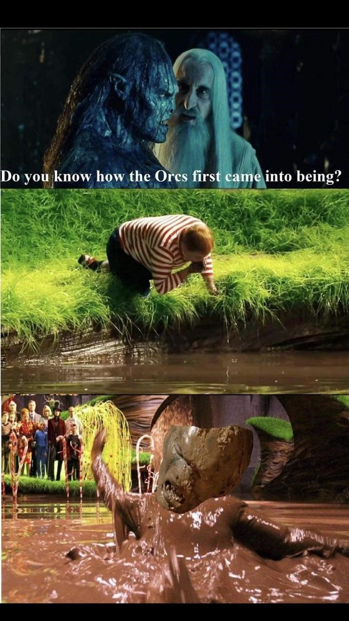 Water - Do you know how the Orcs first came into being?