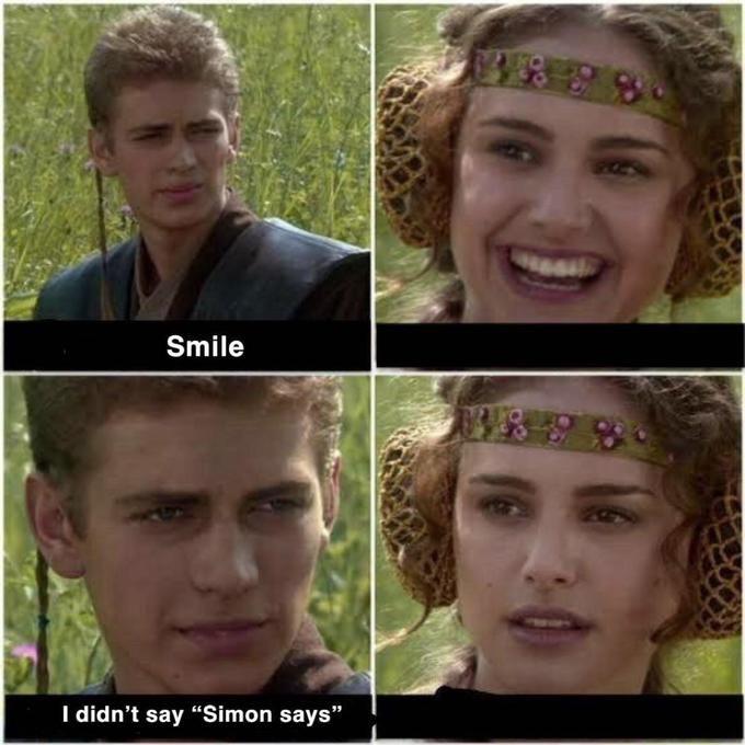 "Hair - Smile I didn't say ""Simon says"""