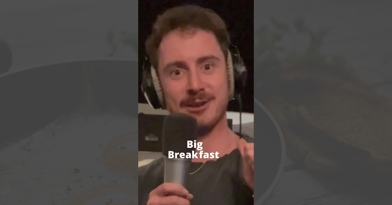 food, breakfast, hungover, funny, lol, tom cardy, youtube, tiktok, song, music