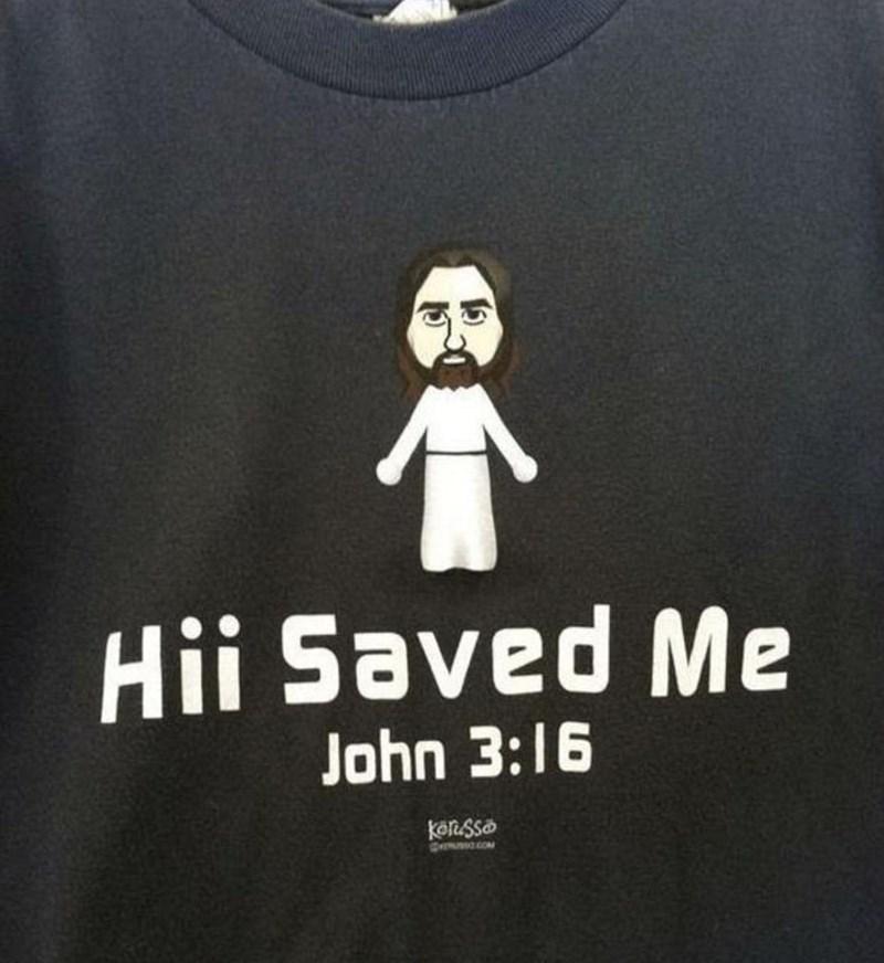 Outerwear - Hii Saved Me John 3:16 könsso