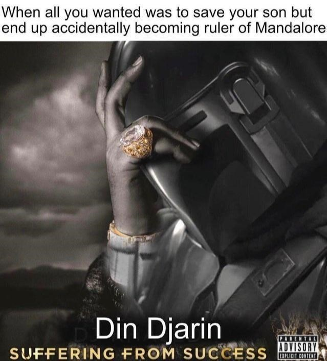 Flash photography - When all you wanted was to save your son but end up accidentally becoming ruler of Mandalore Din Djarin PARENTAL SUFFERING FROM SUCCESS ADVISORY EXPLICIT CONTENT