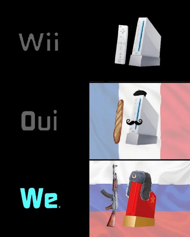 Sleeve - Wii Oui We