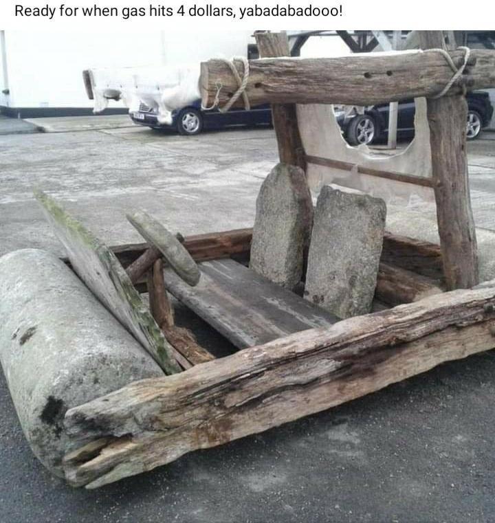 Tire - Ready for when gas hits 4 dollars, yabadabadooo!