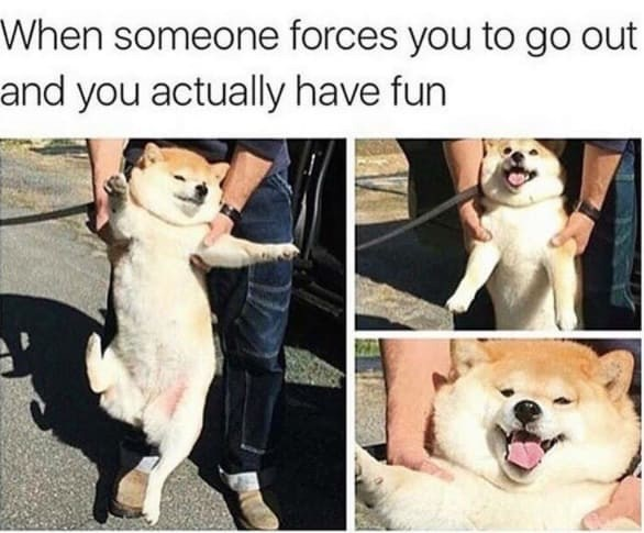 Photograph - When someone forces you to go out and you actually have fun