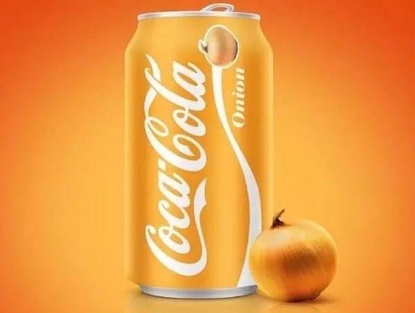 Beverage can - Coca-Cola Onion