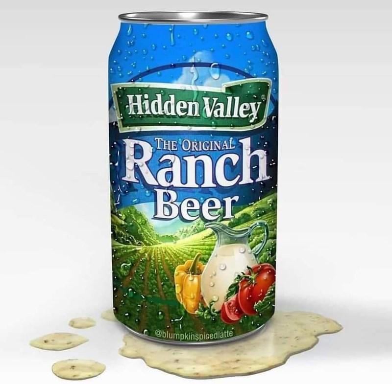 Plant - Hidden Valley THE ORIGINAL Ranch Beer @blumpkinspicedlatte
