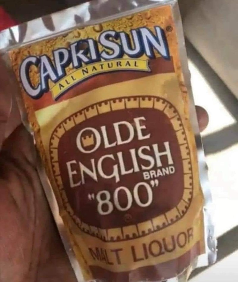 """Food - ALL NATURAL OLDE ENGLISH """"800"""" BRAND 99"""