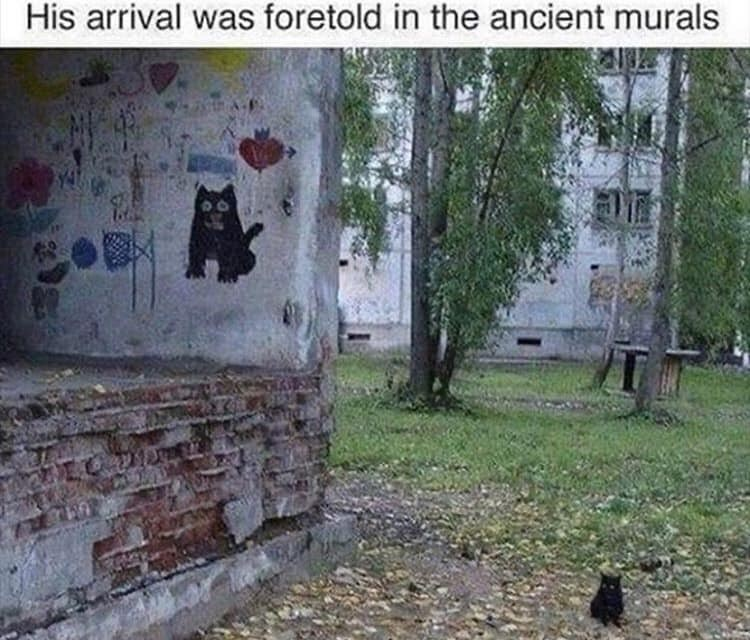 Plant - His arrival was foretold in the ancient murals