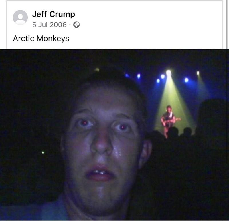 Forehead - Jeff Crump 5 Jul 2006 · Arctic Monkeys