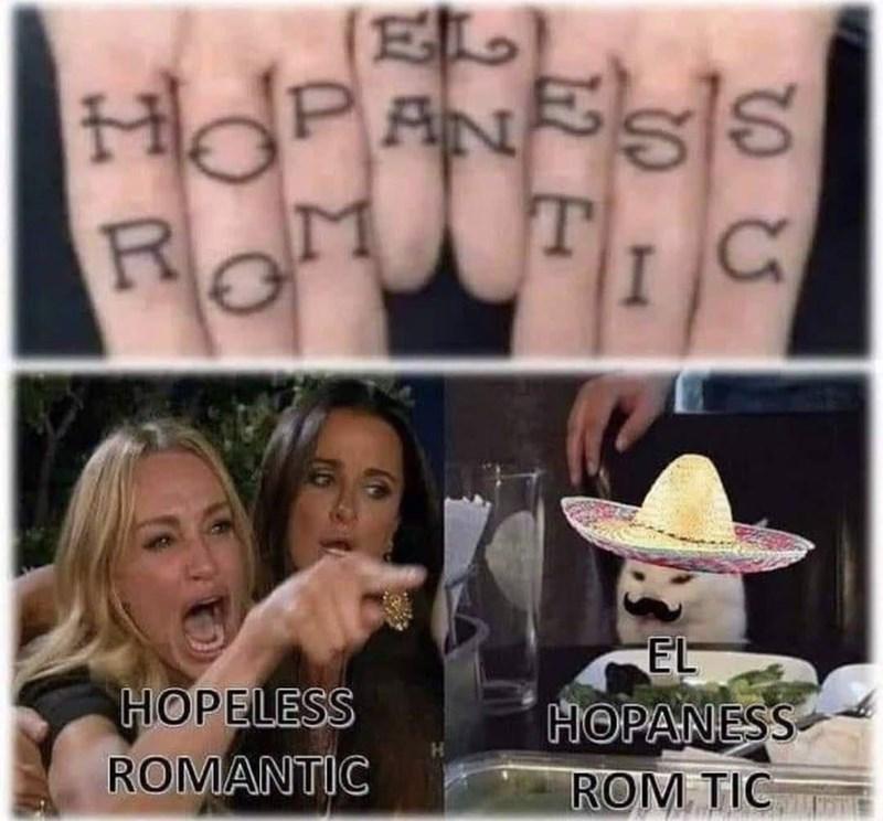 Hair - EL HOPANESS T Ro EL HOPELESS ROMANTIC ΗΘΡΑΝESs. ROM TIC