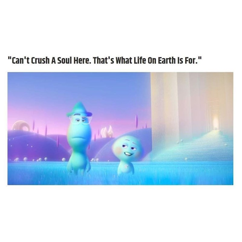 """Snowman - """"Can't Crush A Soul Here. That's What Life On Earth Is For."""""""