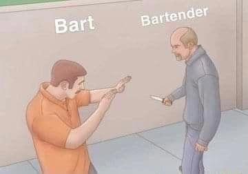 Arm - Bart Bartender