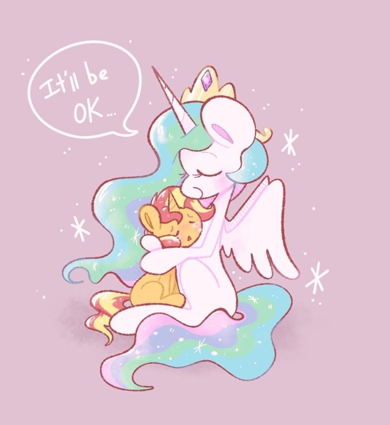 motivational typhwosion princess celestia sunset shimmer - 9618740224
