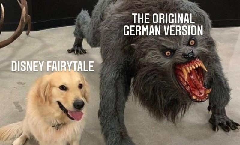 Dog - THE ORIGINAL GERMAN VERSION DISNEY FAIRYTALE