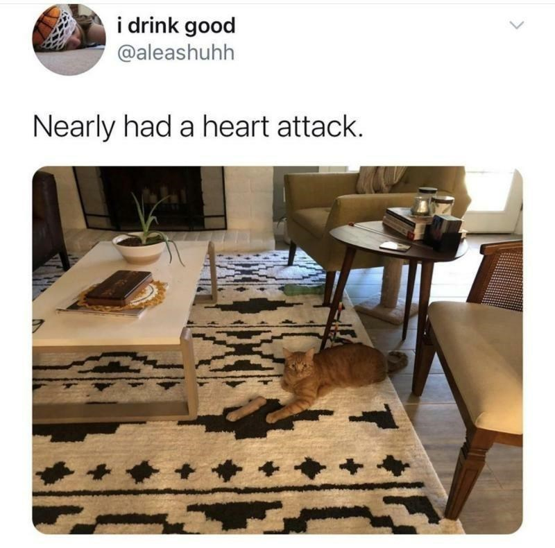 Furniture - i drink good @aleashuhh Nearly had a heart attack.