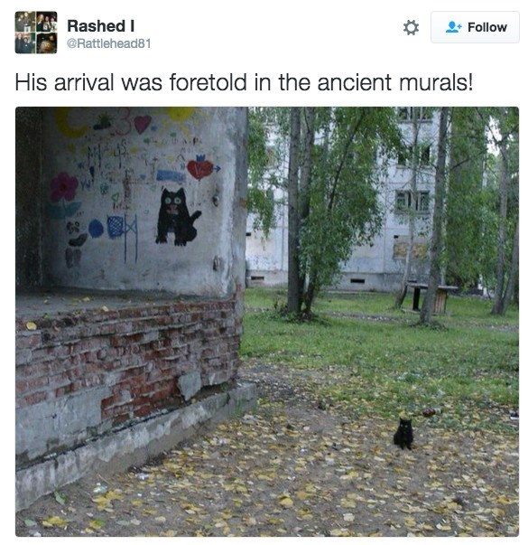 Plant - Rashed I Follow @Rattlehead81 His arrival was foretold in the ancient murals!