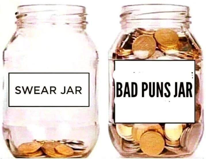 Food - BAD PUNS JAR SWEAR JAR