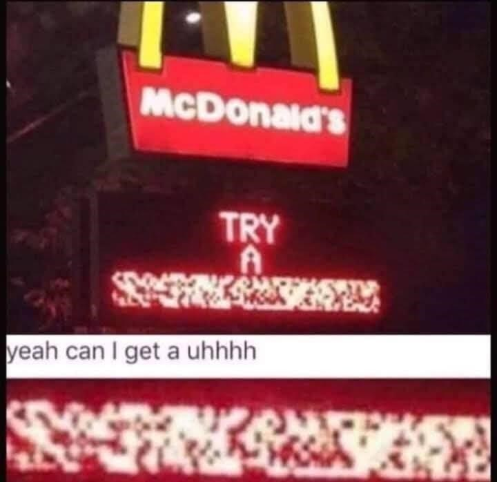 Automotive lighting - McDonald's TRY yeah can I get a uhhhh